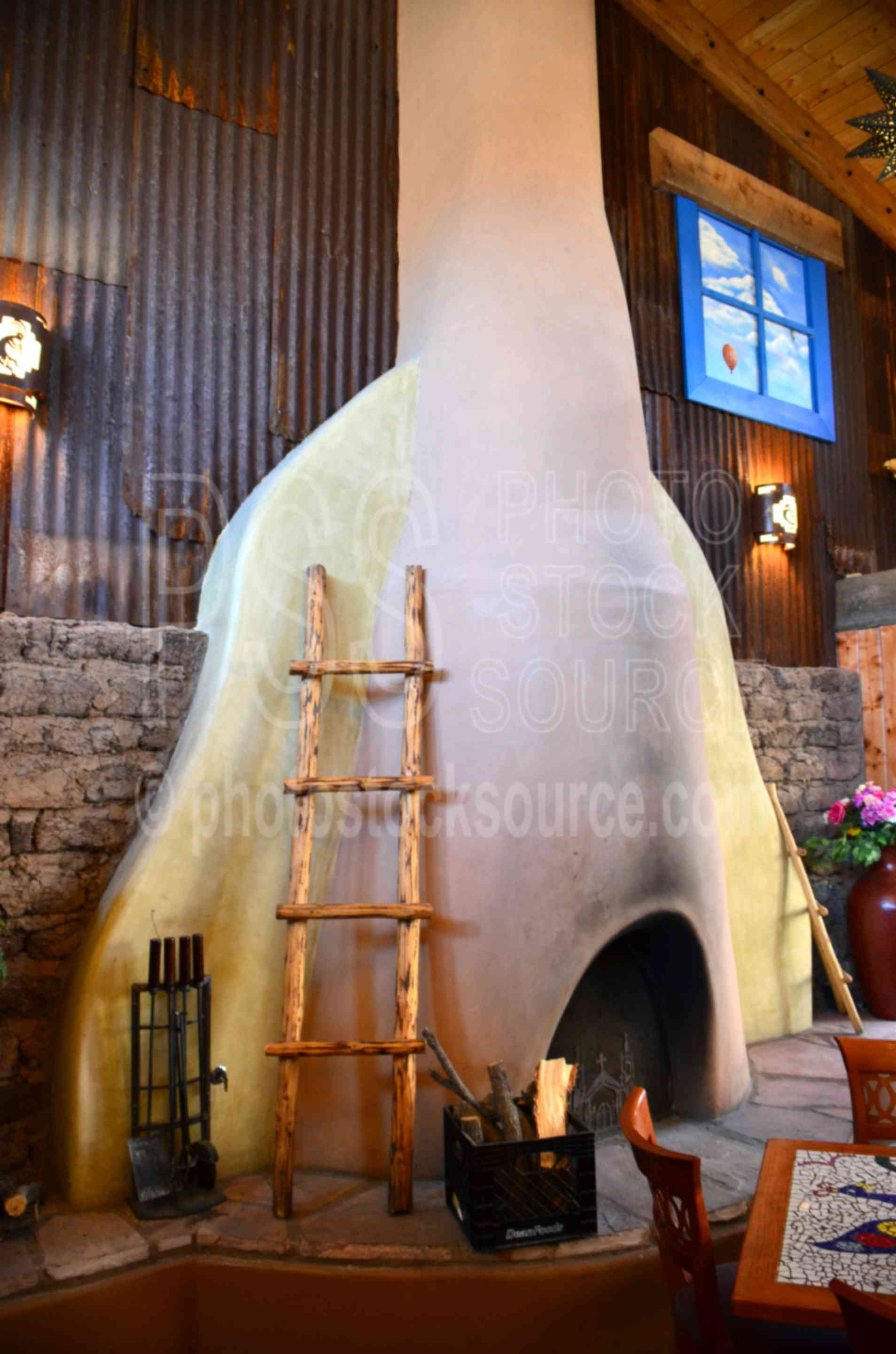 Miraculous Photo Of Church St Cafe Kiva Fireplace By Photo Stock Interior Design Ideas Oteneahmetsinanyavuzinfo