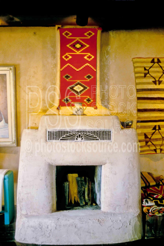 Adobe Fireplace,fireplace,usas