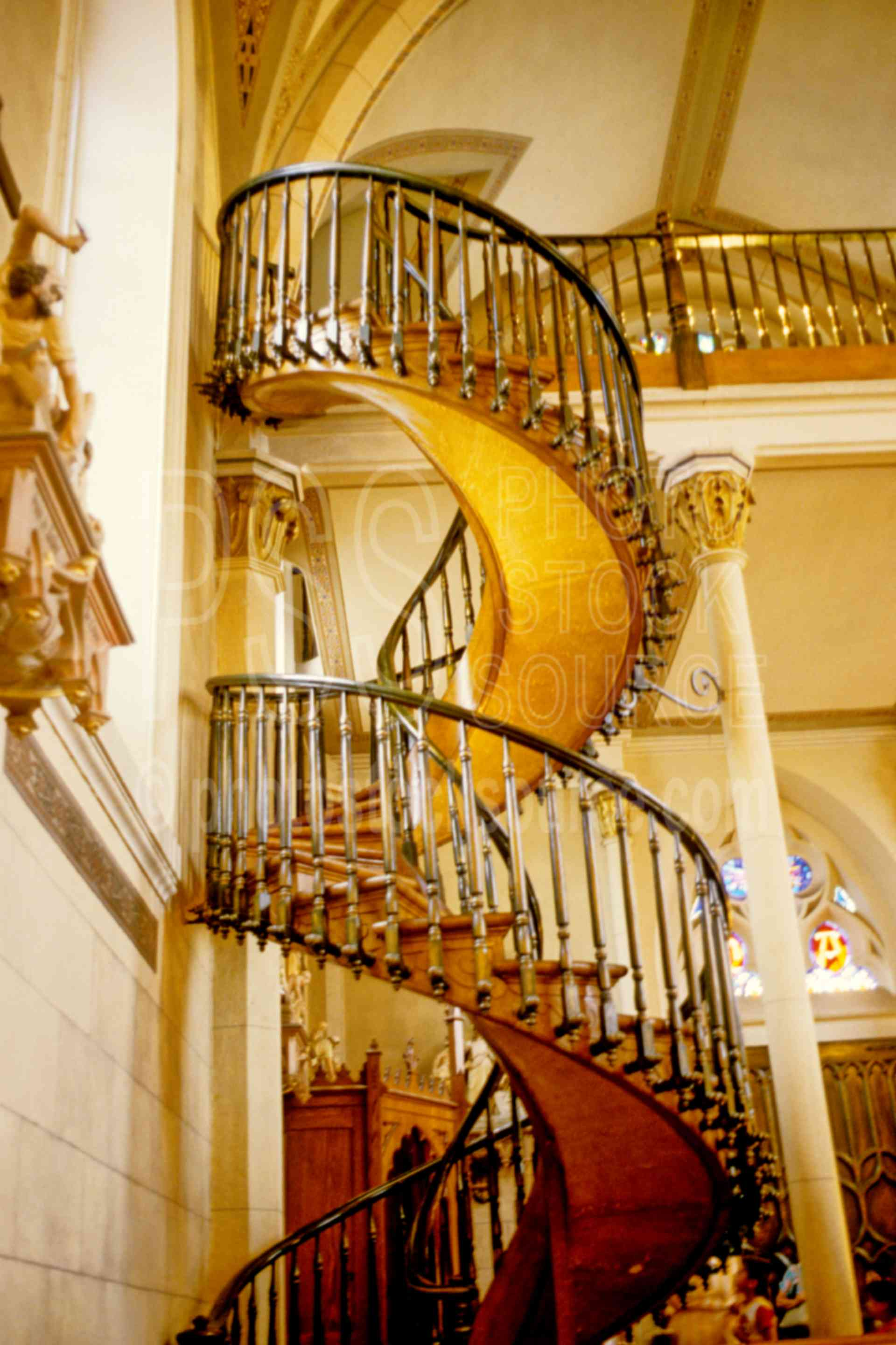 Spiral Staircase,chapel,church,staircase,carpenter,usas,spiral staircase,US Churches,churches