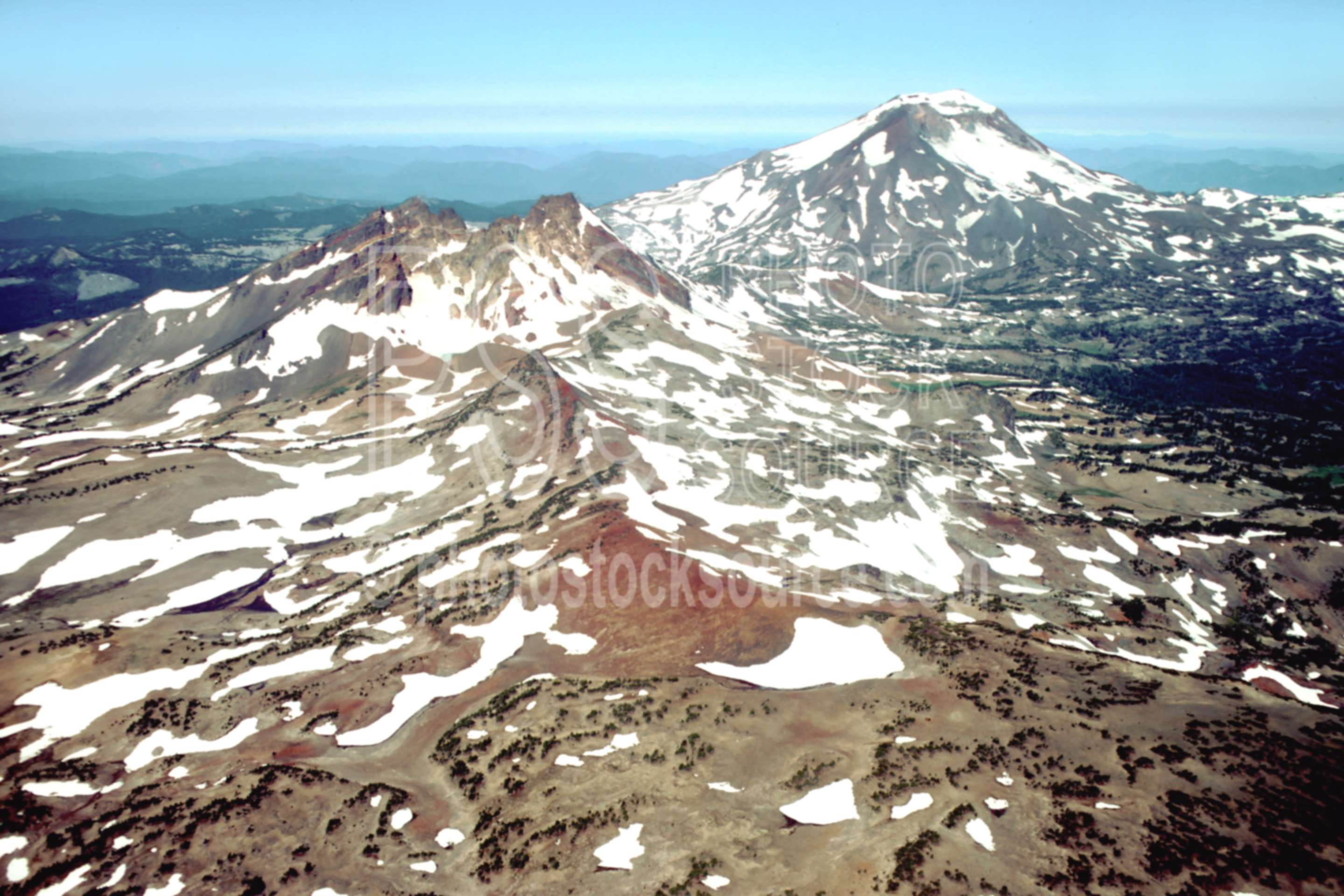 Broken Top, South Sister,aerial,broken top,south sister,tam mcarthur rim,mountains,aerials