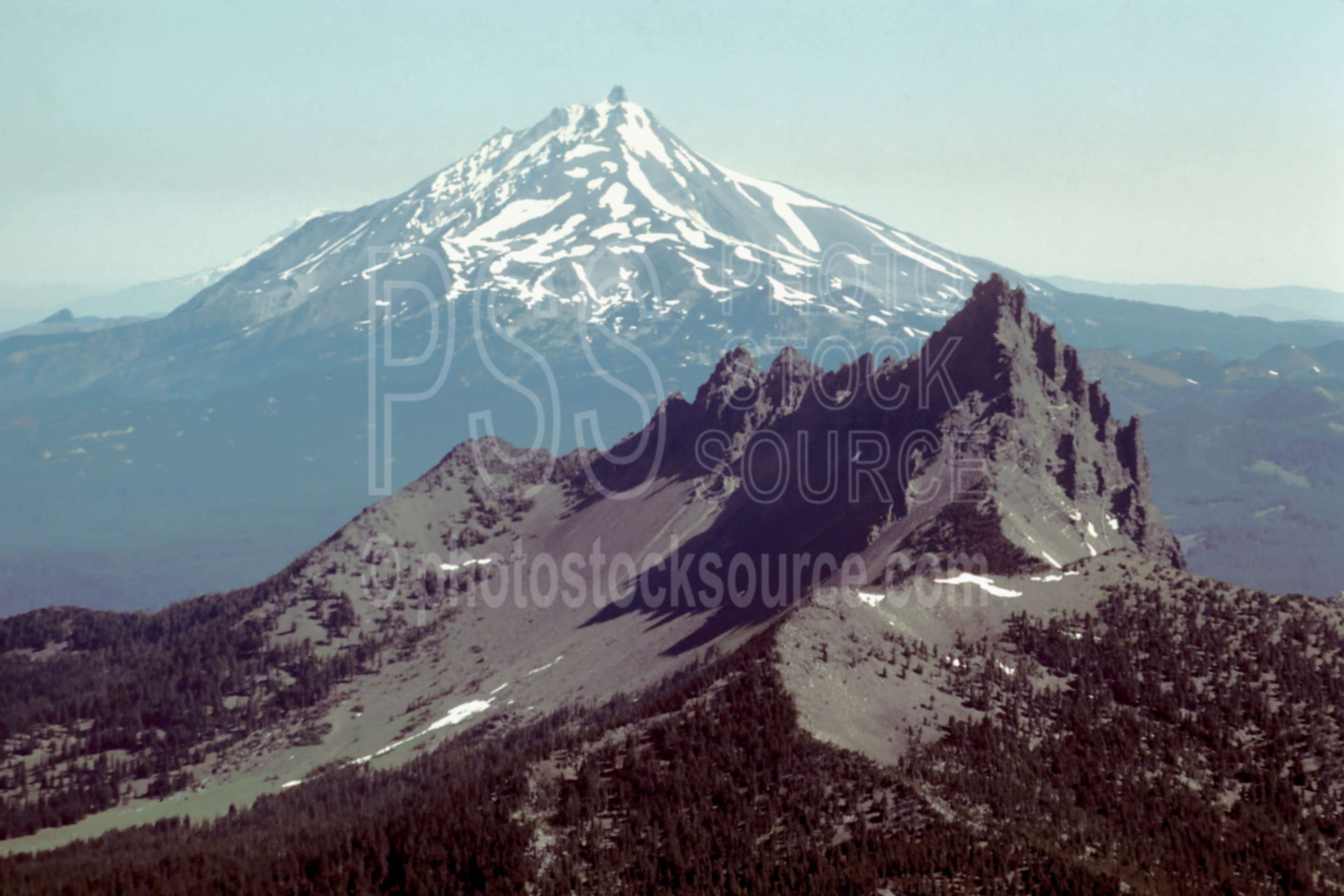 Jack and Jefferson,aerial,mt. jefferson,three fingered jack,usas,mountains,aerials