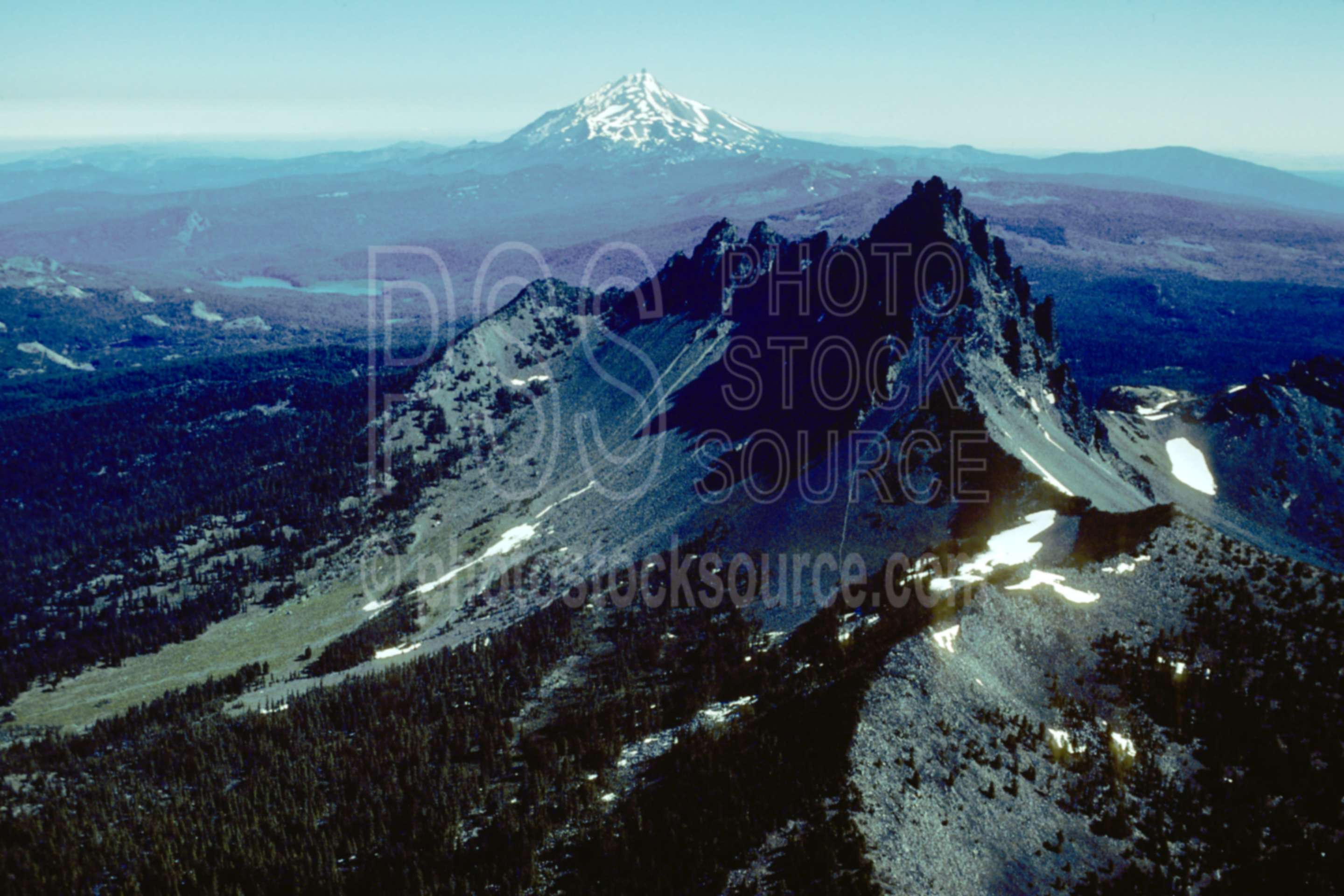 Three Fingered Jack, Jeff.,aerial,three fingered jack,mt. jefferson,usas,mountains,aerials
