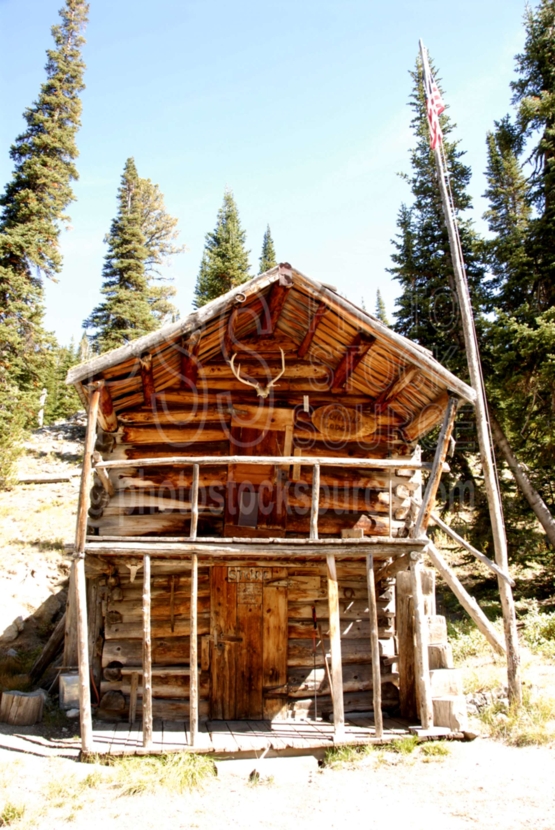 Photo Of Aneroid Lake Cabin By Photo Stock Source Cabins