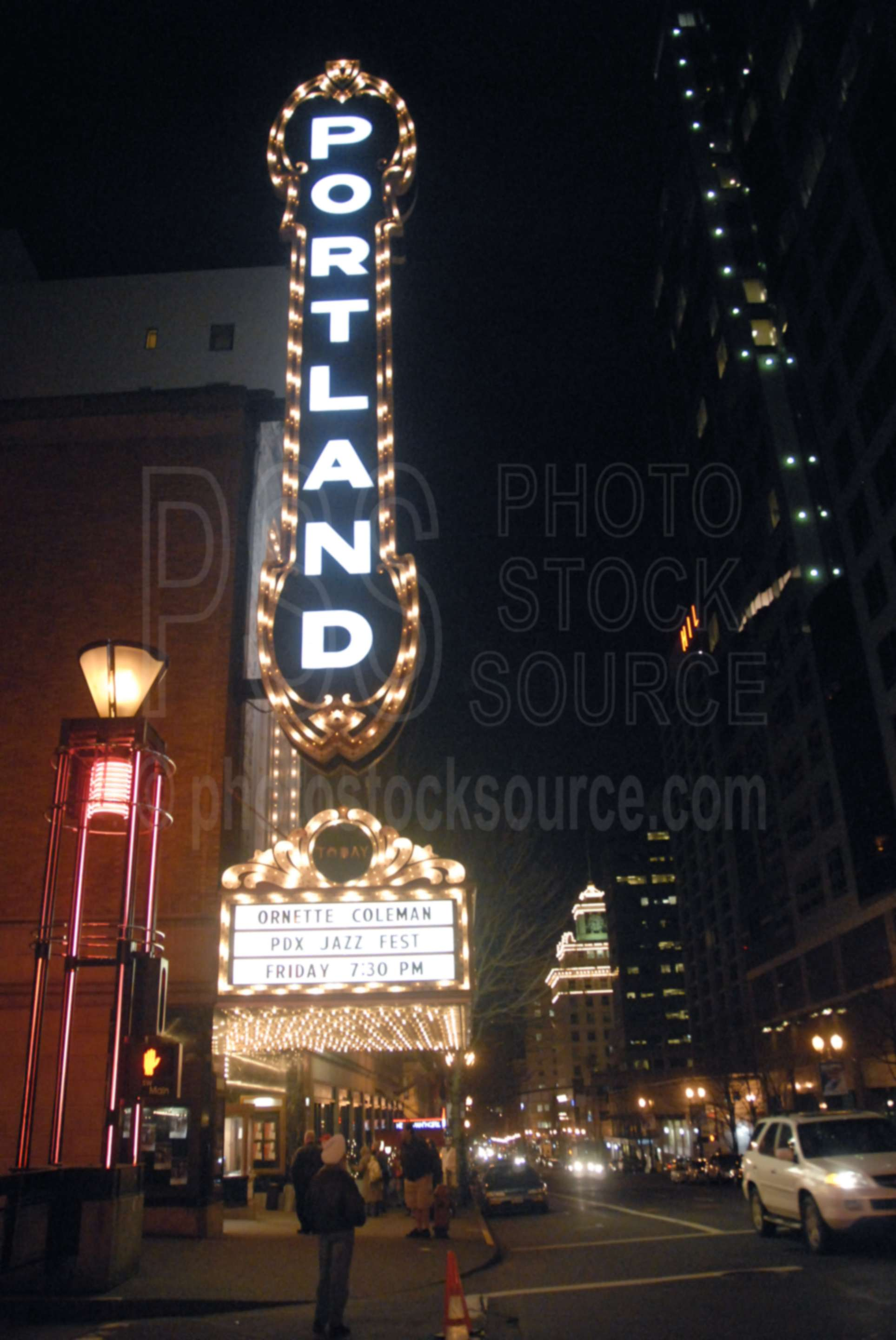 Portland Theater,night,theater,movie Theaters