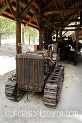 Antique Cat Tractor
