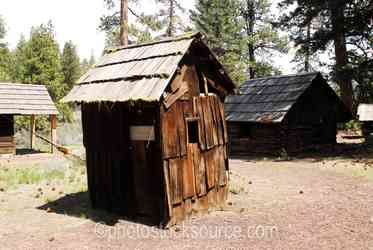 Photo of Wooden Outhouse