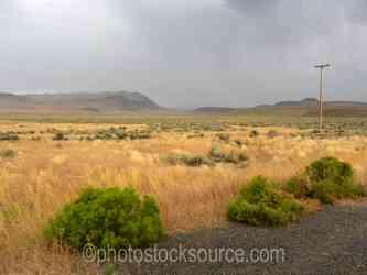 Eastern Oregon Rainstorm