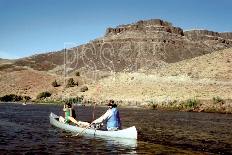John Day River,canoe,people,river running,usas,lakes rivers