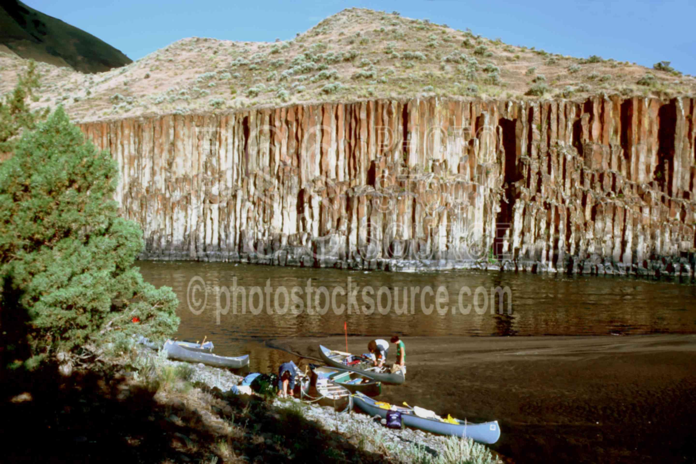John Day River,basalt,gorge,usas,lakes rivers