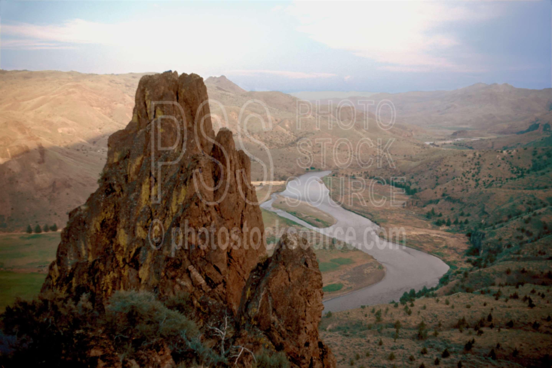 John Day River,gorge,usas,lakes rivers