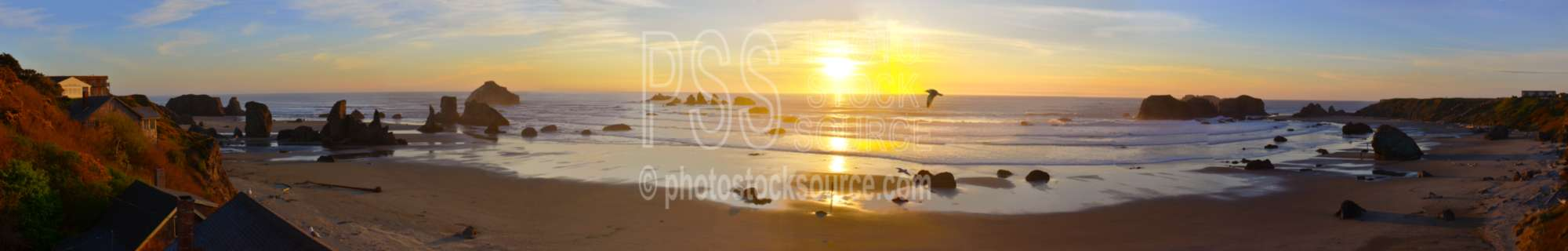 Sunset from Sunset Motel,sunset,beach,rocks,seastacks,ocean,sea
