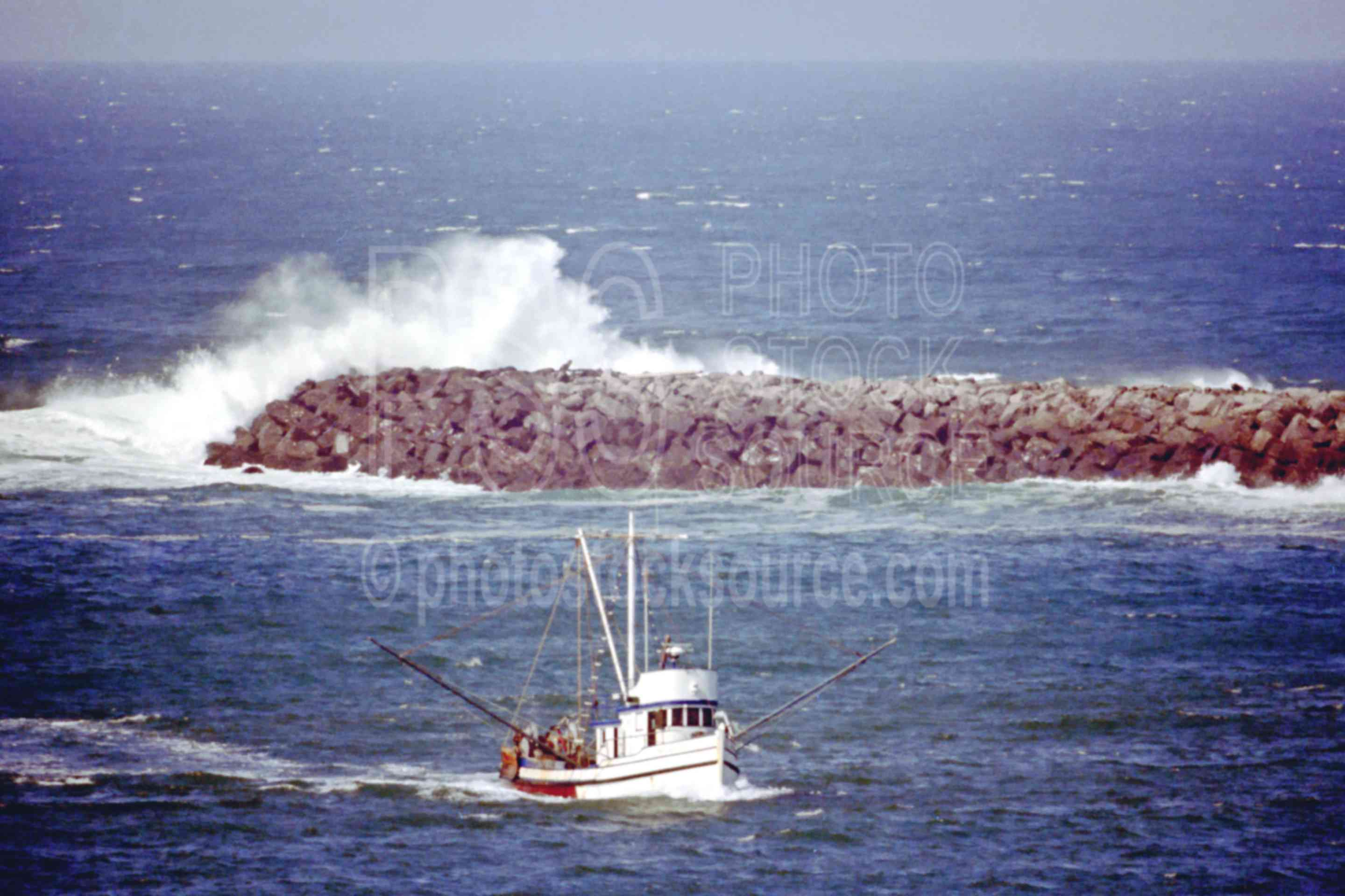 Photo of boat crossing bar by photo stock source boat for Coos bay fishing