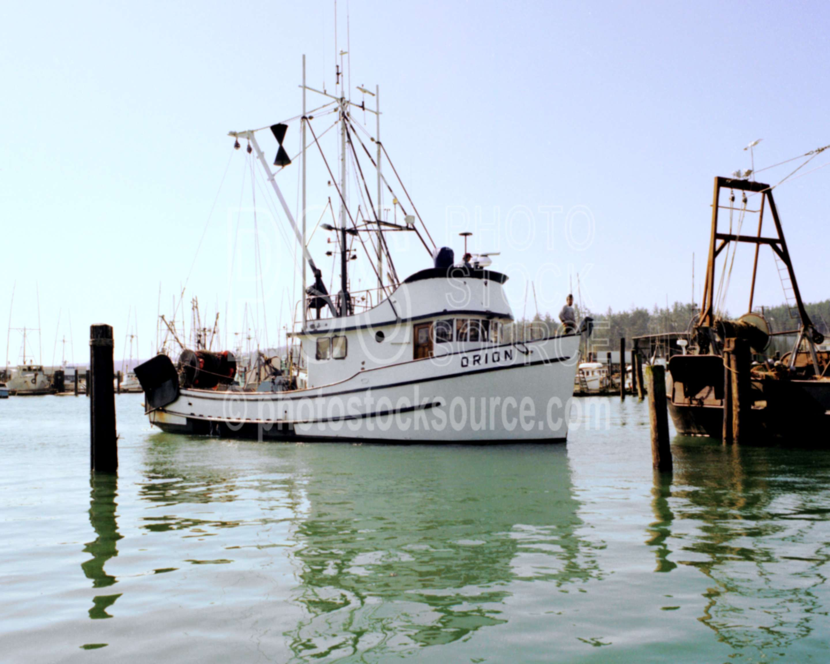 Photo of fishing boat orion by photo stock source boat for Newport harbor fishing