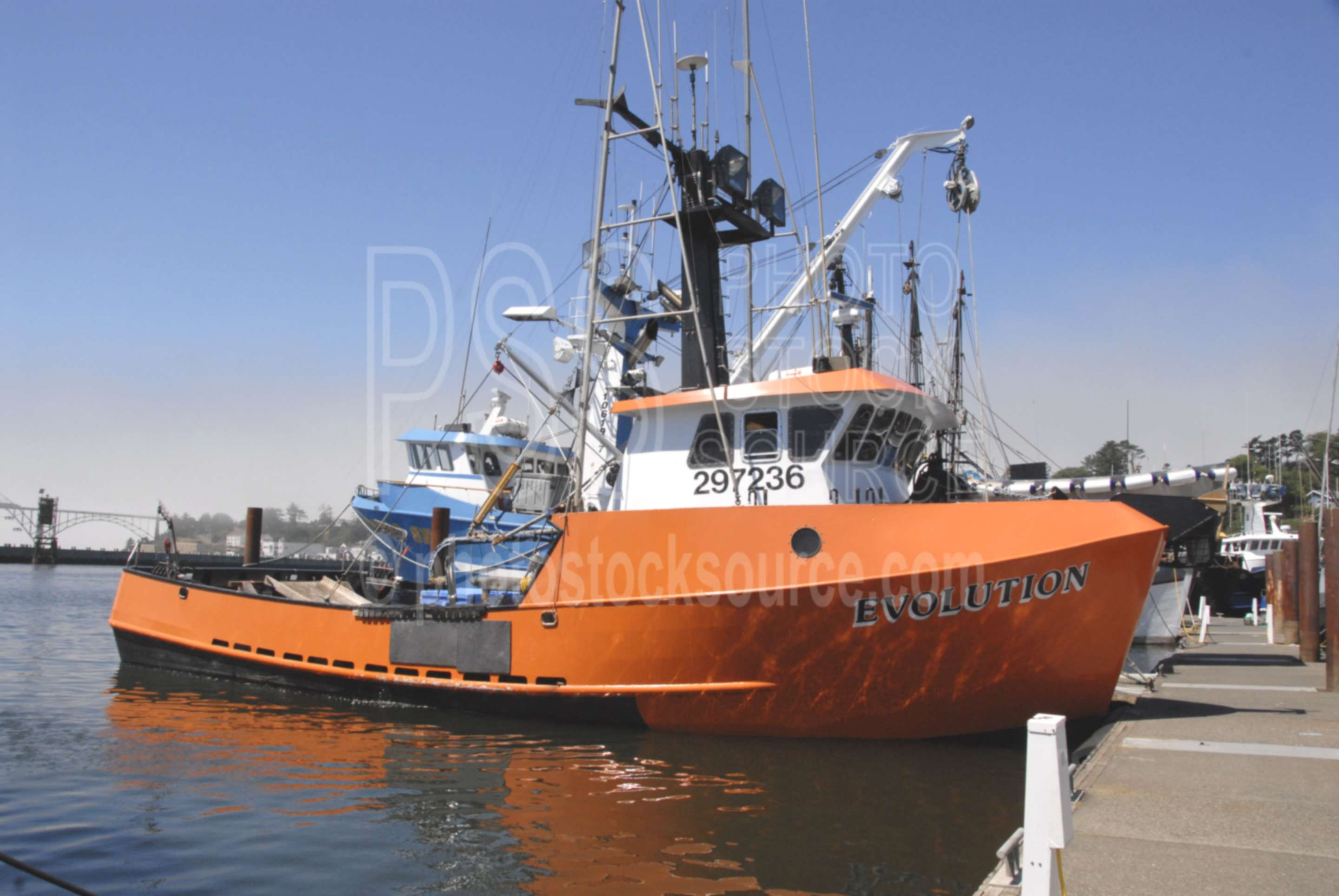 Photo of evolution fishing boat by photo stock source for Newport oregon fishing