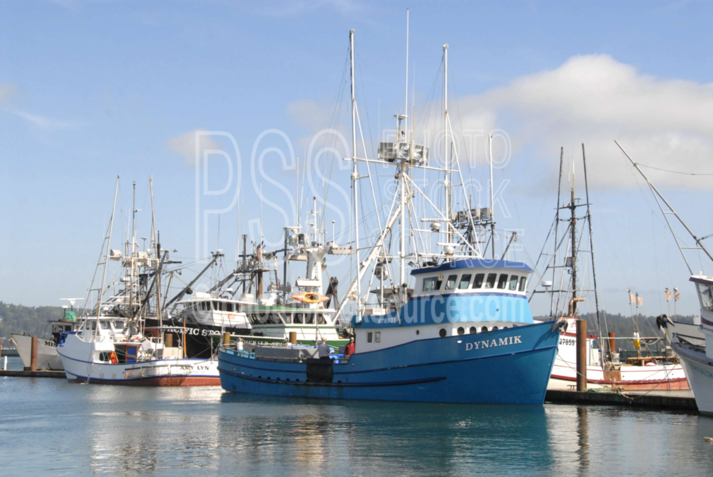 Photo of dynamik fishing boat by photo stock source for Newport harbor fishing