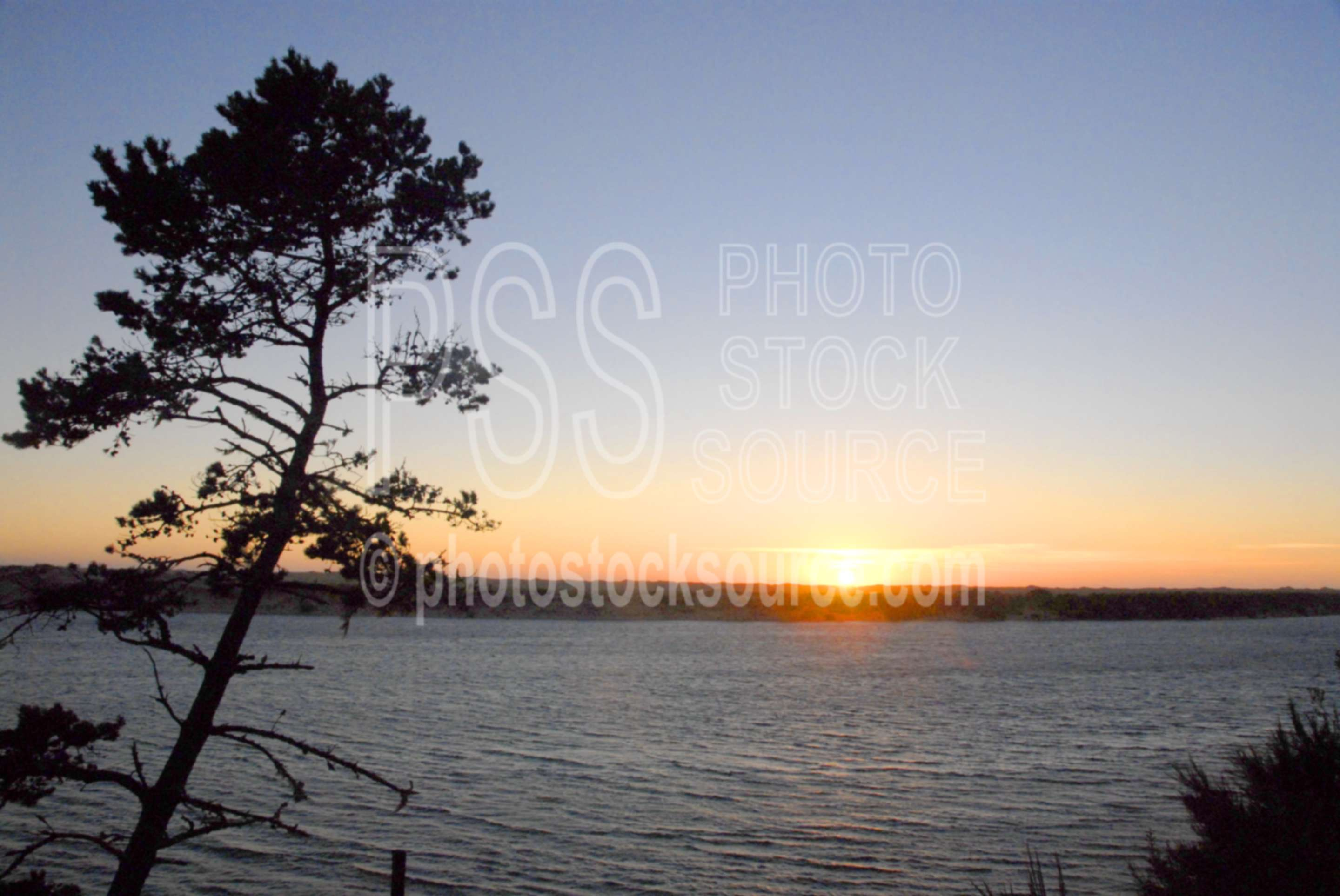 Siuslaw Sunset,river,siuslaw river