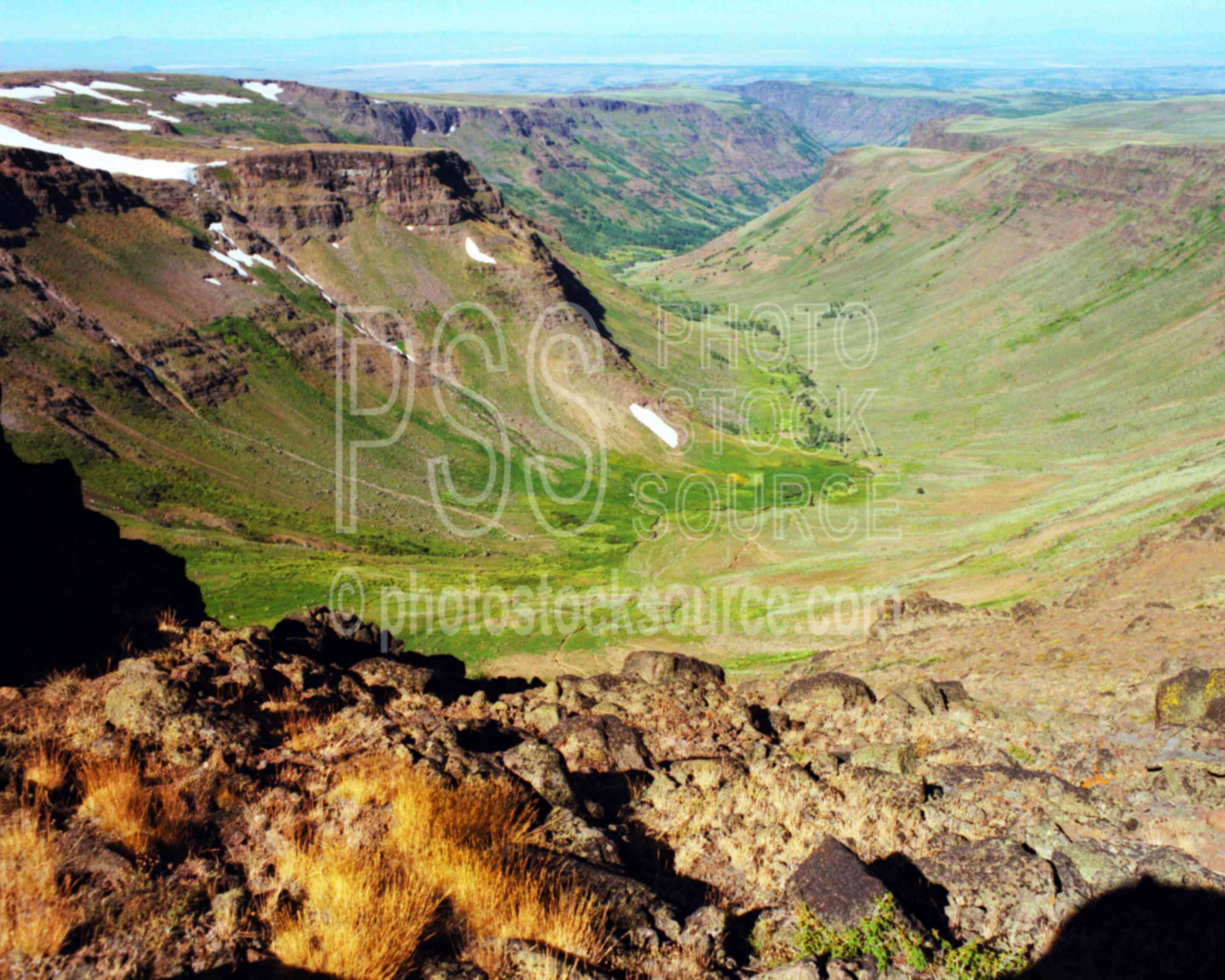 Big Indian Gorge,gorge,steens mt.,usas