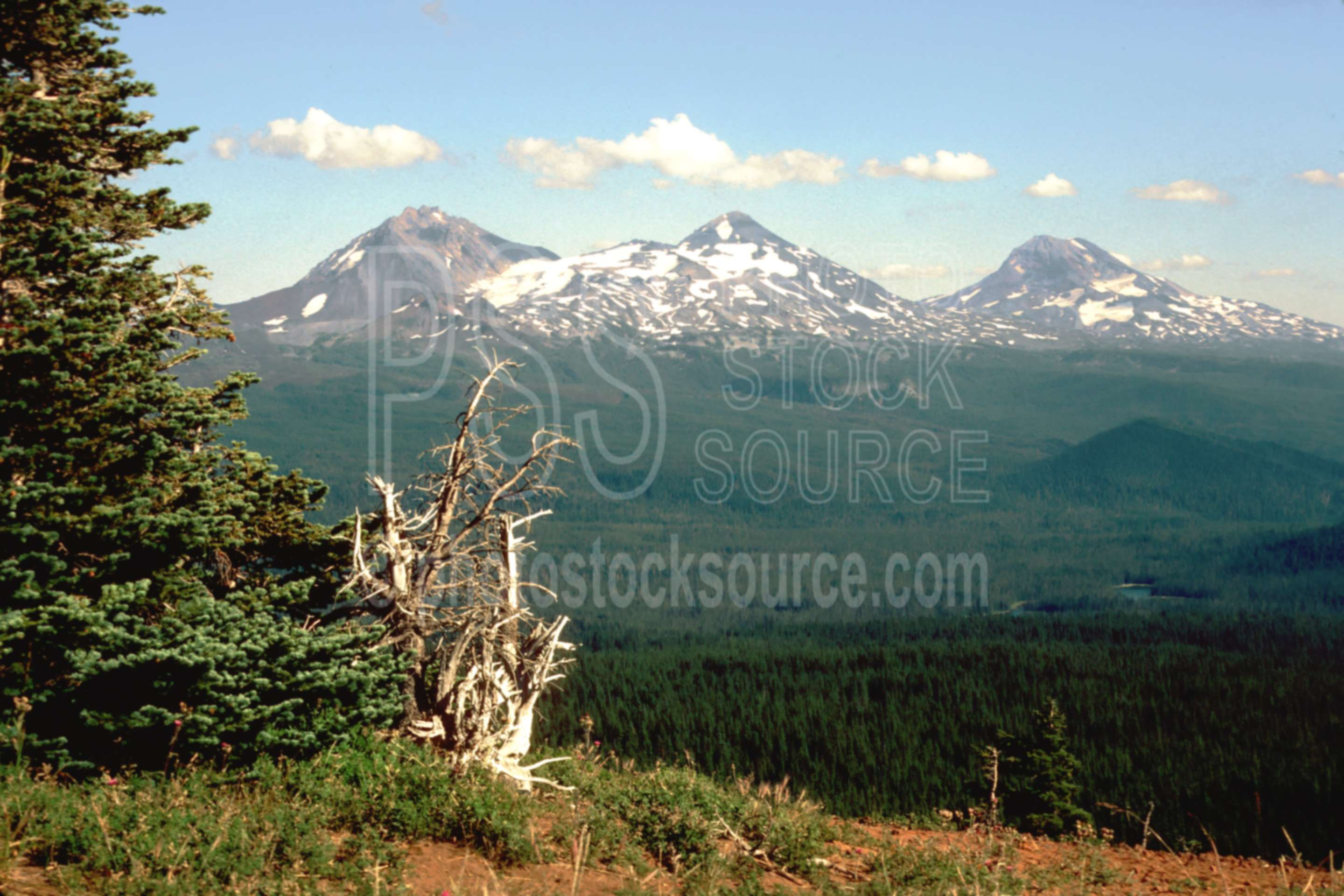 Three Sisters,scott mt.,usas,mountains
