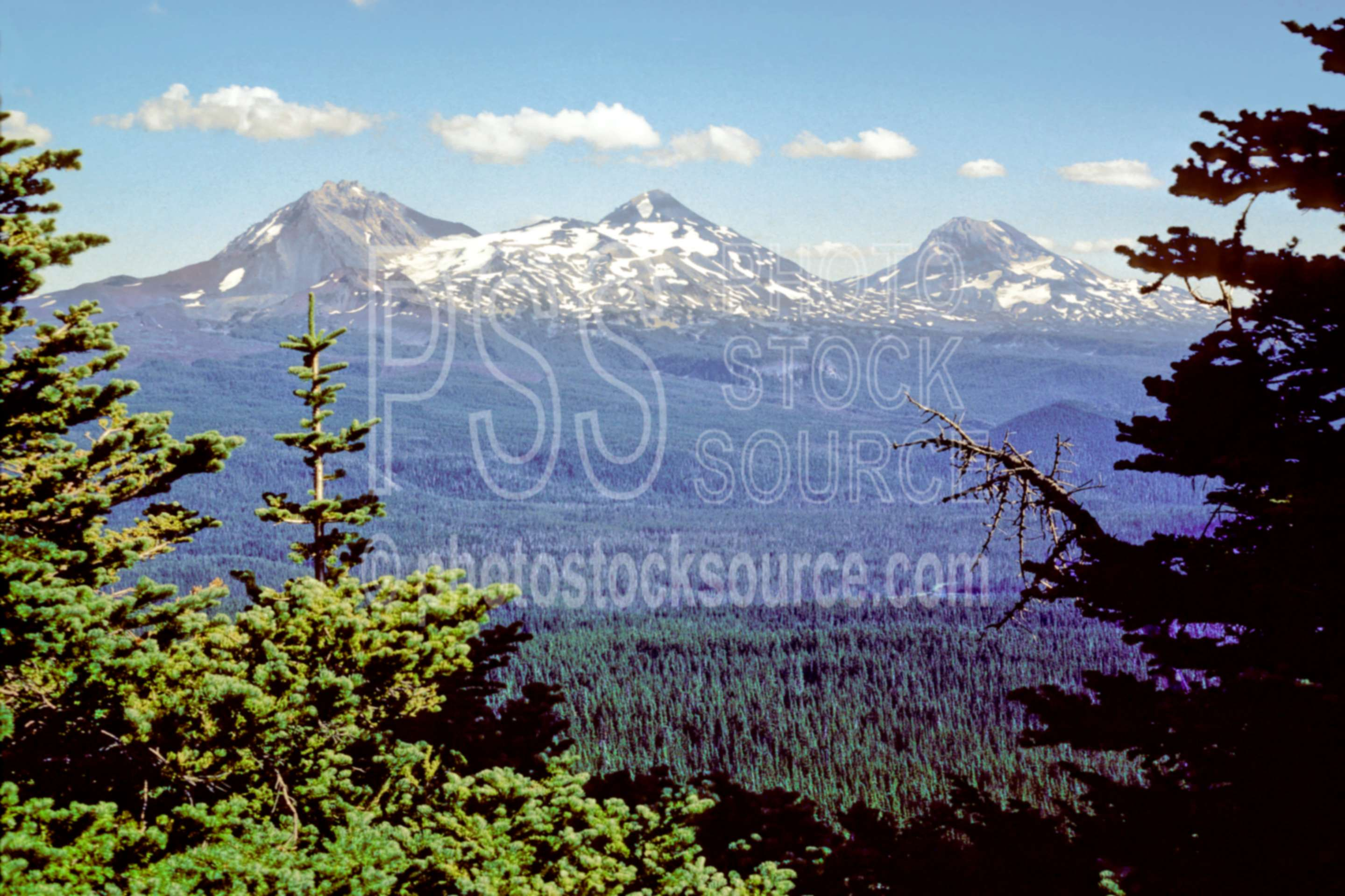 Three Sisters,north sister,middle sister,south sister,scott mt.,usas,mountains