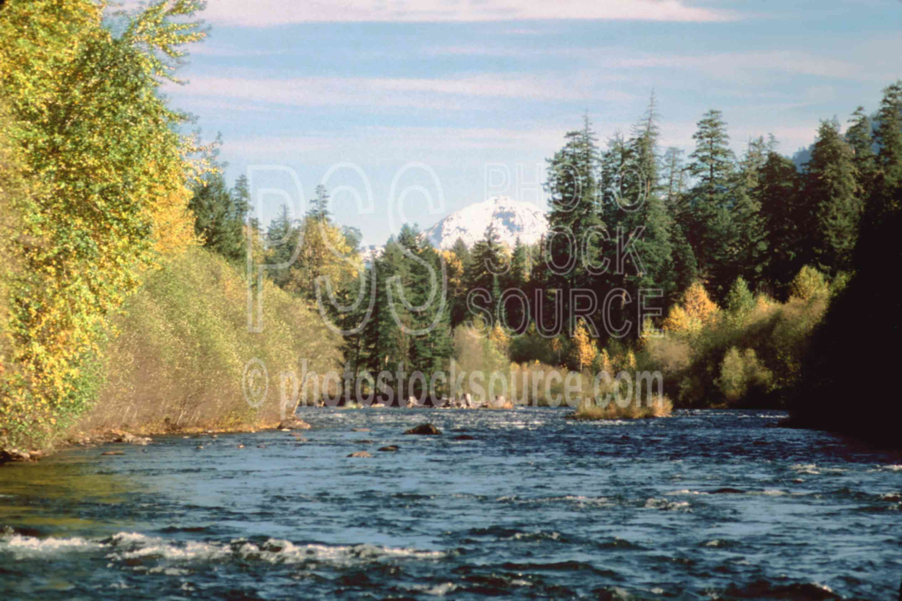 North Sister, McKenzie River,mckenzie river,north sister,river,usas,lakes rivers,mountains