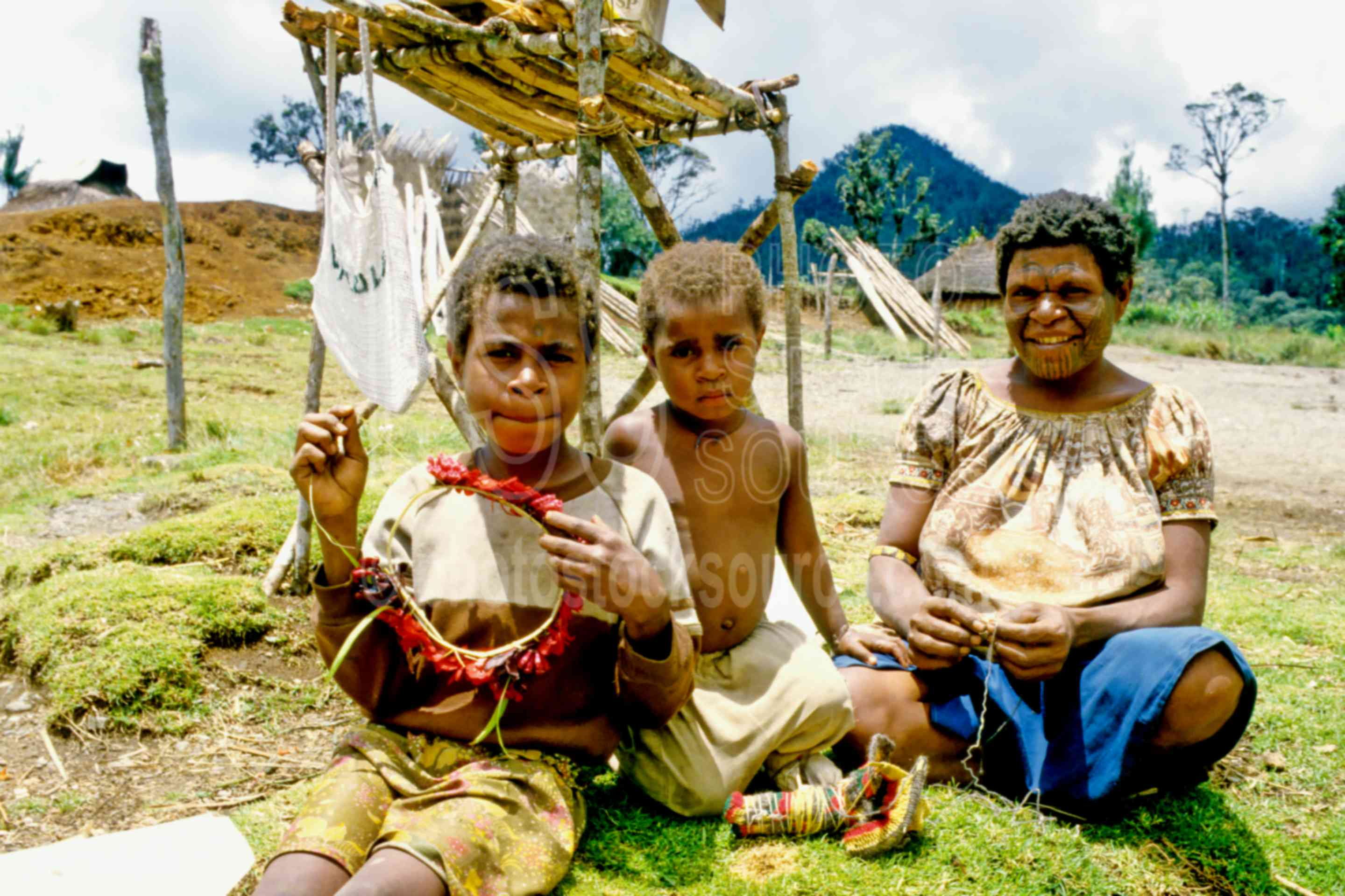 Mother with her Boys,children,mother,sons,woman,png markets