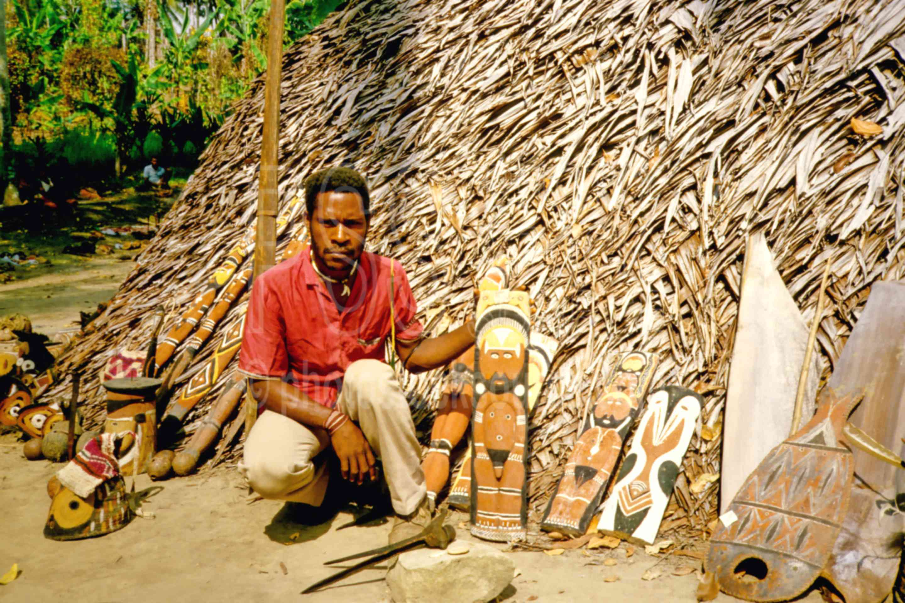 Artifacts,arts,carving,people,mans,yam mask,png markets