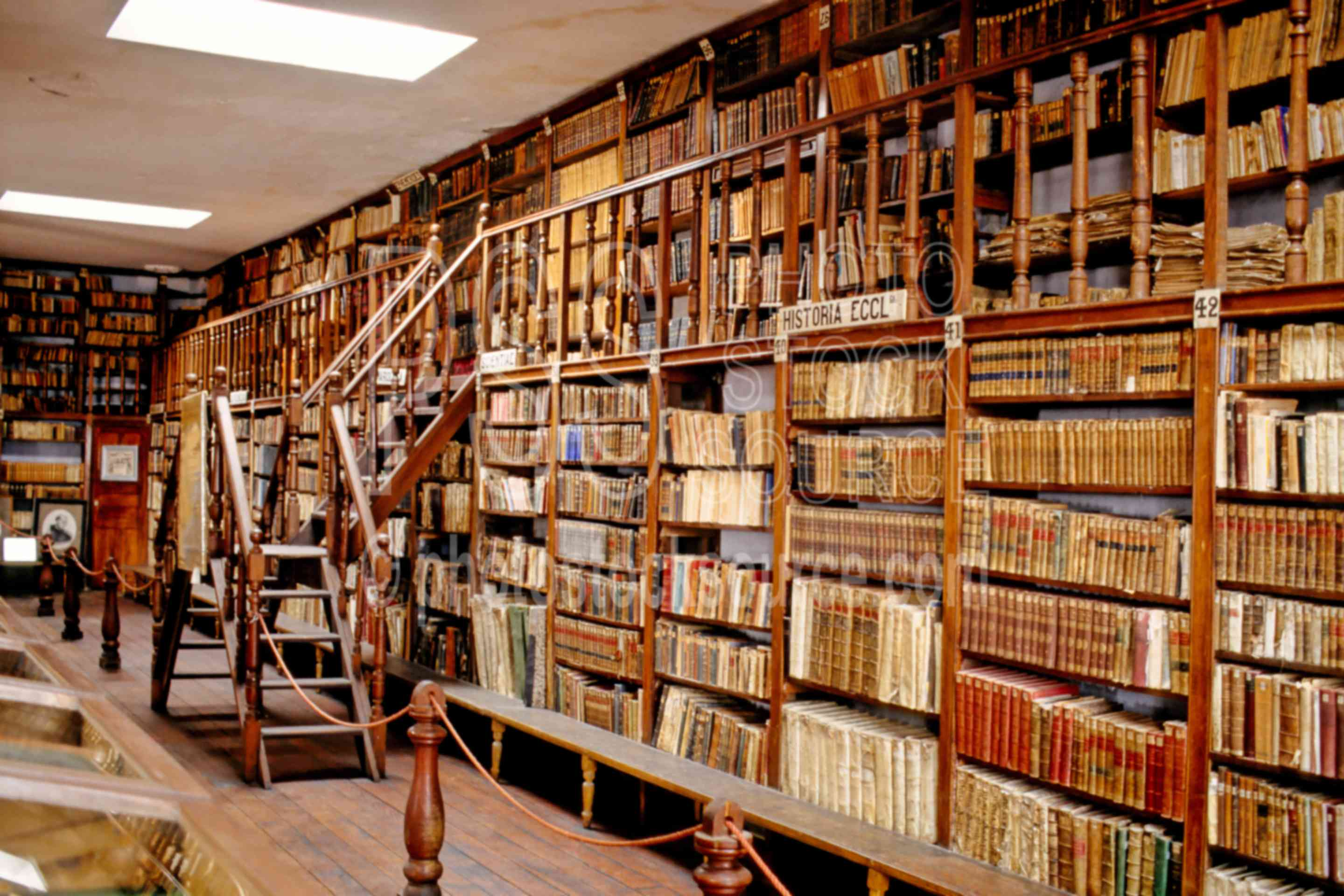 Photo Of Ancient Library By Photo Stock Source Building