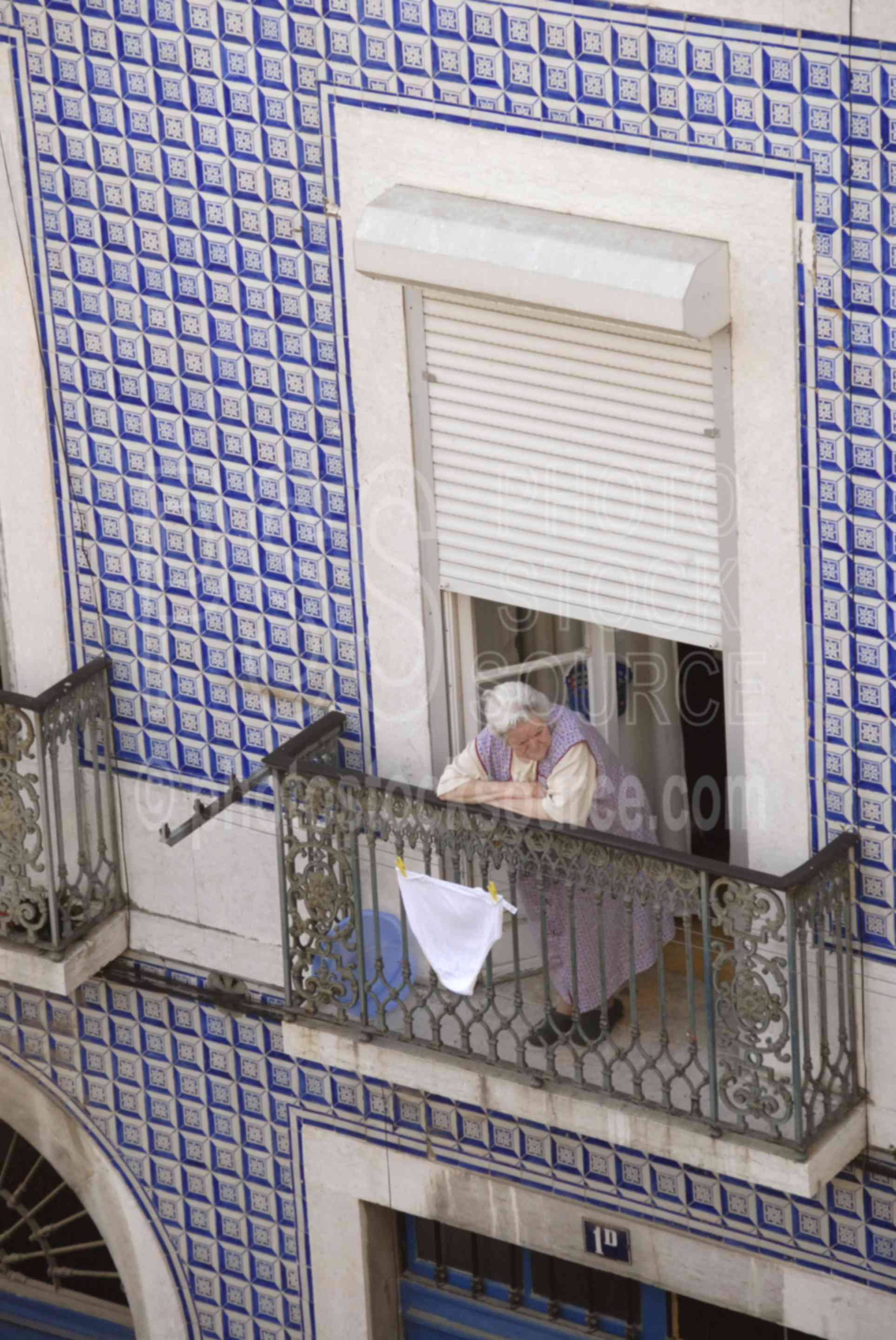 Drying Underwear,house,tile,woman,architecture,underwear,underpants