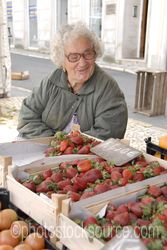Photo of Selling Strawberries