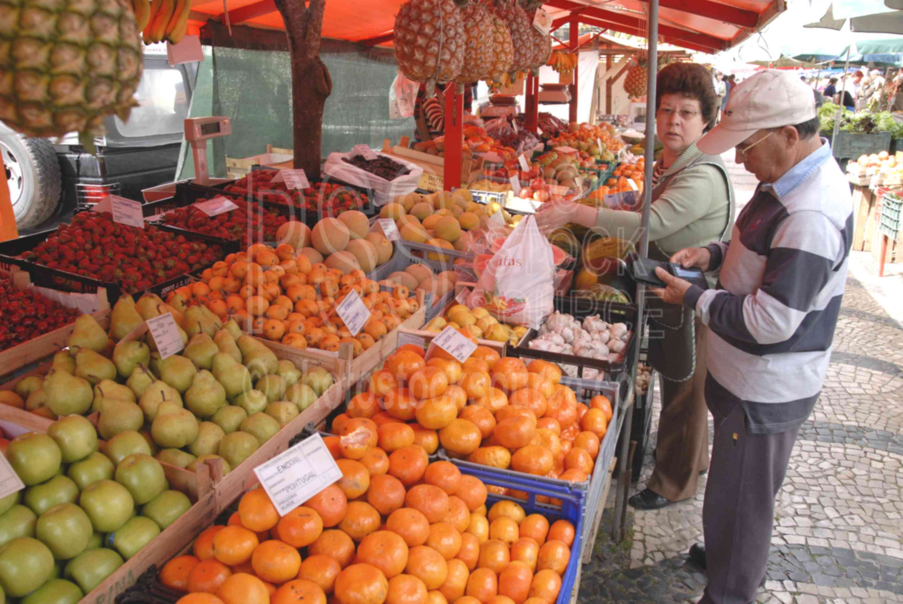 Fruit Seller,food,seller,vendor,fruit,people,mercado das caldas,markets