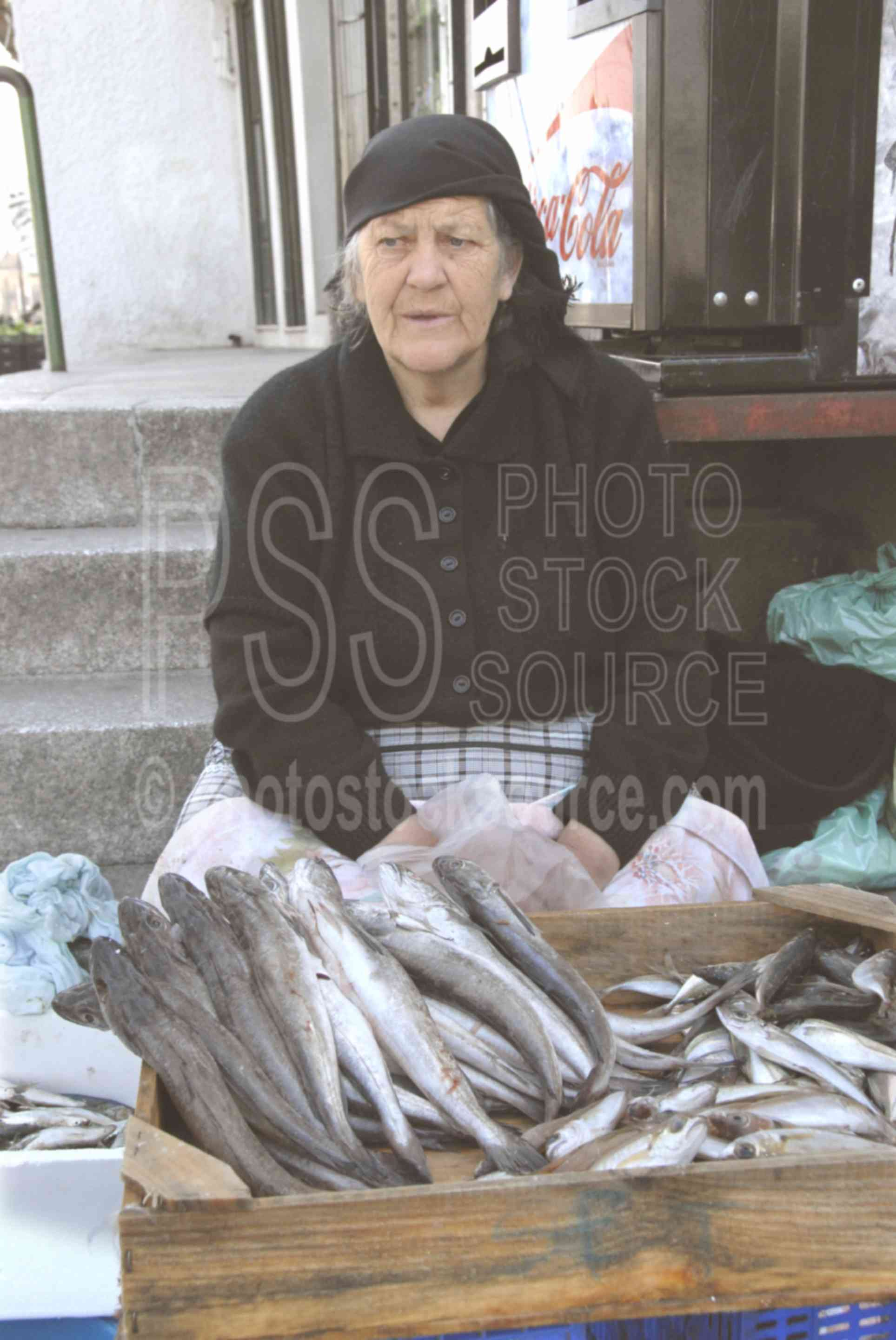 Fish Seller,porto,fish,food,fishmonger,vendor,seller,selling