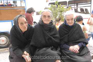 Photo of Three Women in Black