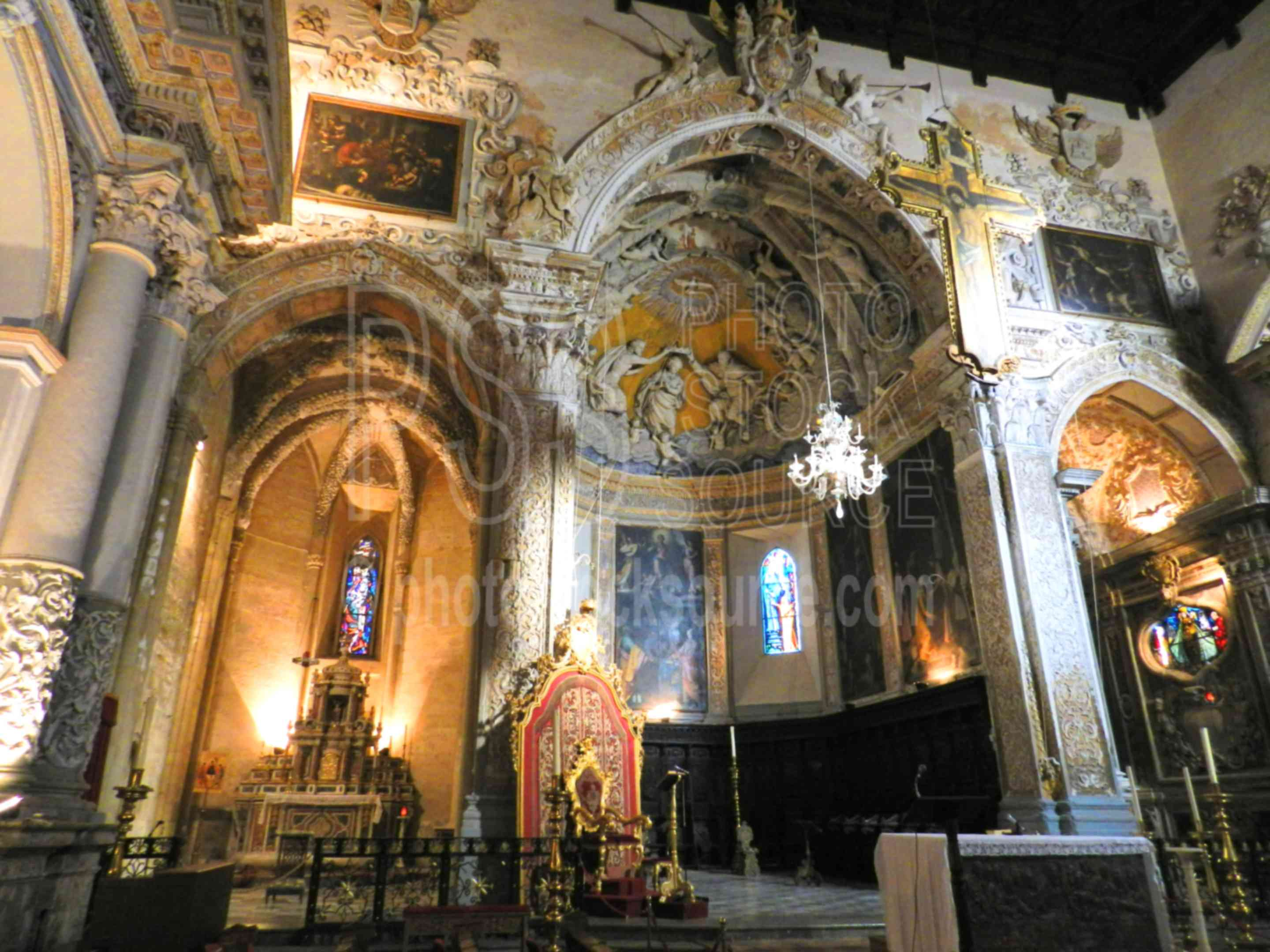 Cathedral Apse,enna,church,cathedral,duomo,interior,apse