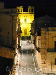 Photo of Chiesa Montevergini at Night