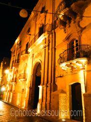 Photo of Baroque Balcony at Night