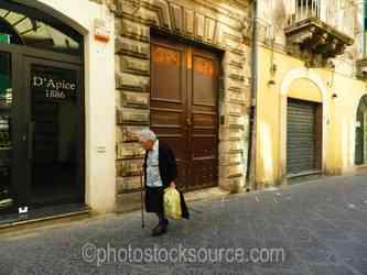 Photo of Elderly Lady Shopping