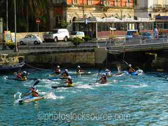 Photo of Men Playing Water Polo
