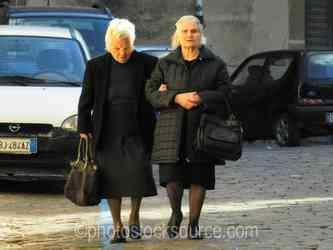 Photo of Two Ladies Walking