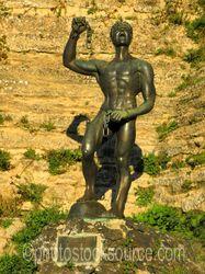 Lombardy Castle Euno Sculpture