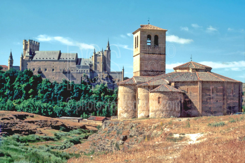 Church of Vera Cruz,castle,church,europe,architecture,churches,castles