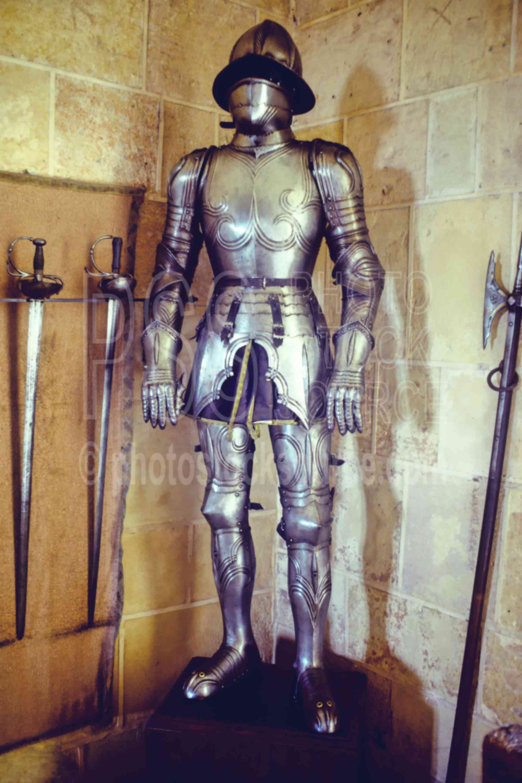 Armor inside El Alcazar,armor,castle,europe,castles