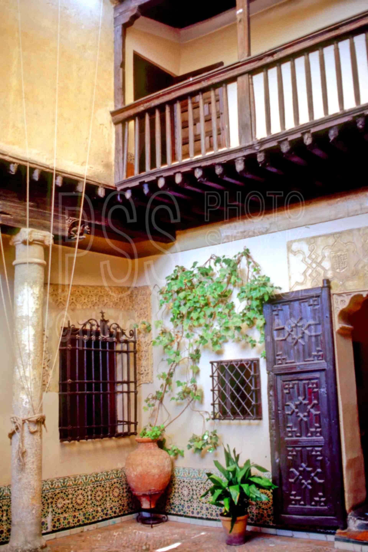 El Grecos House,courtyard,el greco,europe,house