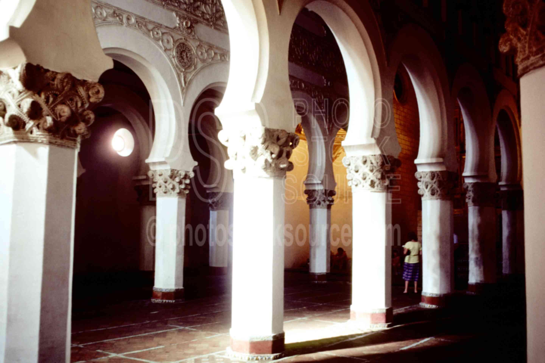 Moorish Arches,spain churches mosques
