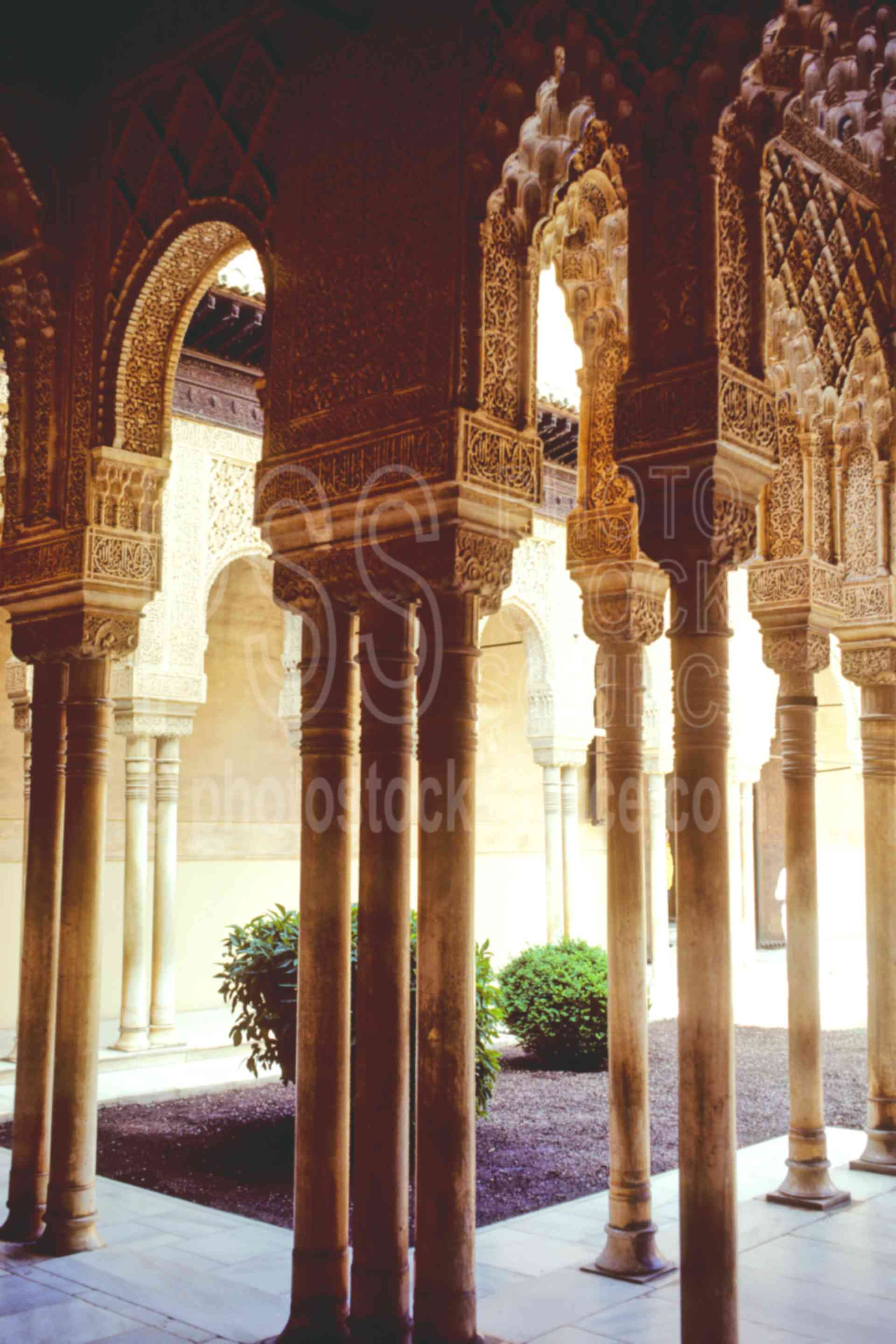 Court of Lions,alhambra,europe,arts,spain churches mosques