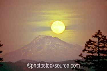 South Sister Moonrise