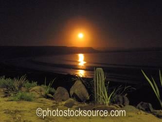 Scorpion Bay Moonrise
