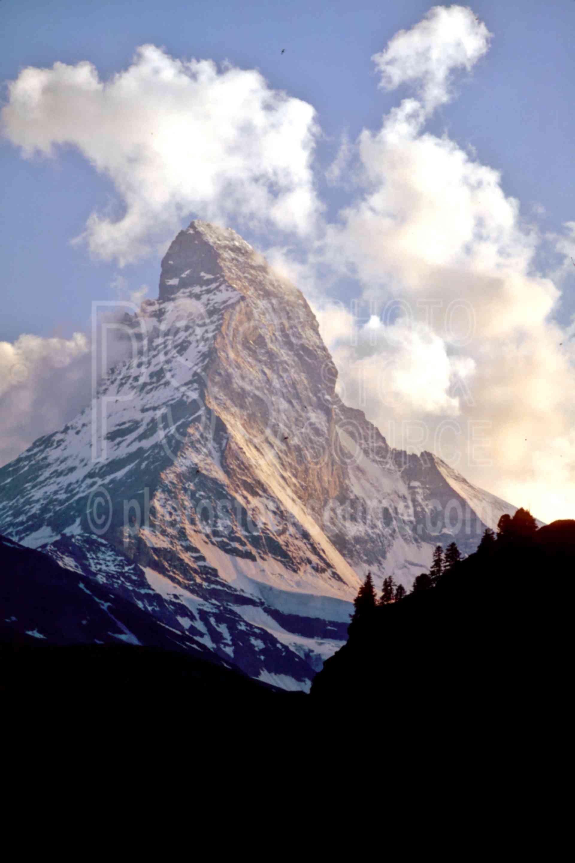 The Matterhorn,europe,matterhorn,nature