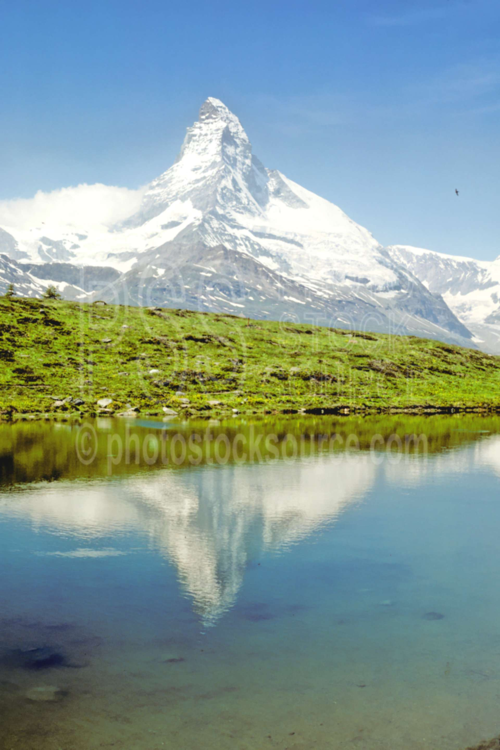 Matterhorn from Sunnega,europe,matterhorn,sunnega,nature
