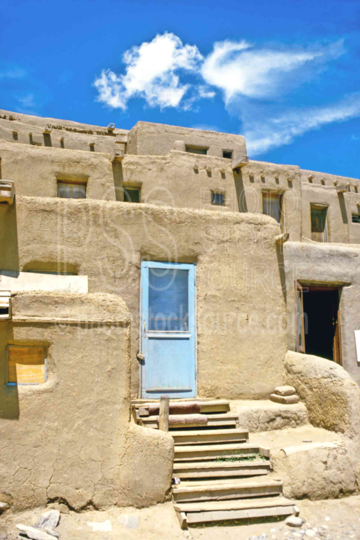 Taos Dwellings,home,house,native american,usas
