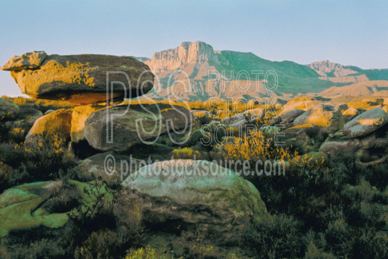 El Capitan,balancing rock,guadalupe mountains,rock,usas,nature